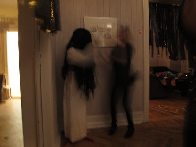 halloween party with the crew, helsingborg