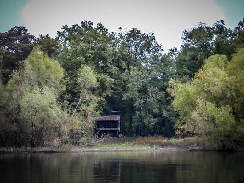 Savannah River from Stokes Bluff with LCU Nov 7, 2014, 4-18 PM Nov 8, 2014, 10-12 AM