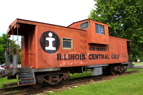 Illinois Central Gulf Caboose 199331