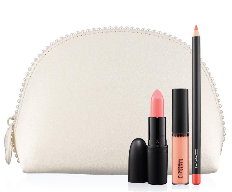 KEEPSAKES LIP LOOK BAG Coral Lip Bag