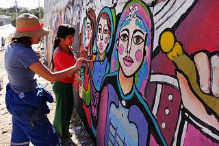 """Primer Encuentro Pintoras Callejeras"" / Maip� (Chile)"