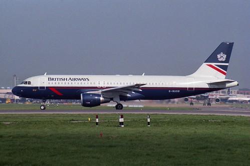G-BUSB Airbus A320-111
