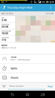 20141112_RunKeeper(Walking)