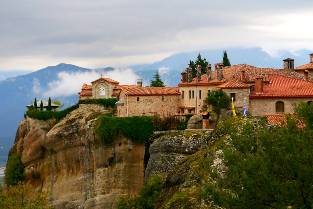 Monastery in the clouds, Meteora