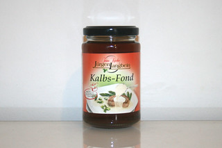 06 - Zutat Kalbsfond / Ingredient veal stock