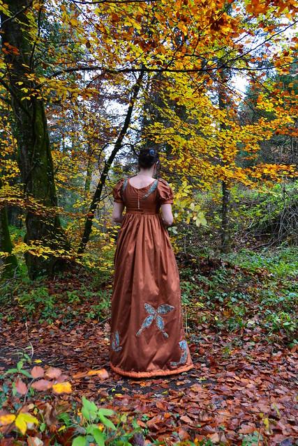 Robe de mariée soie doupion