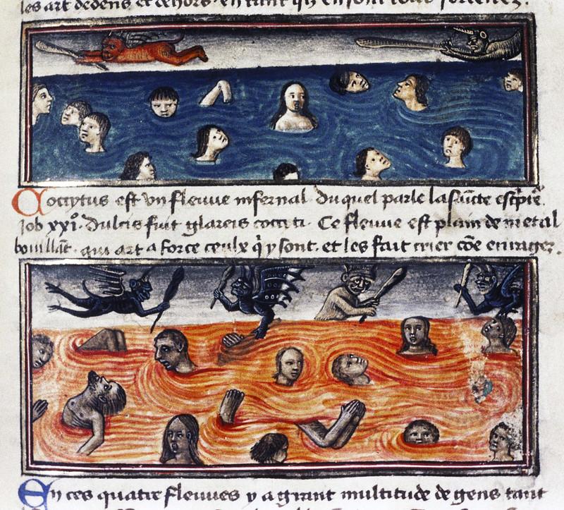 Demons From The Livre de la vigne nostre Seigneur, 1450 - 70 (27)