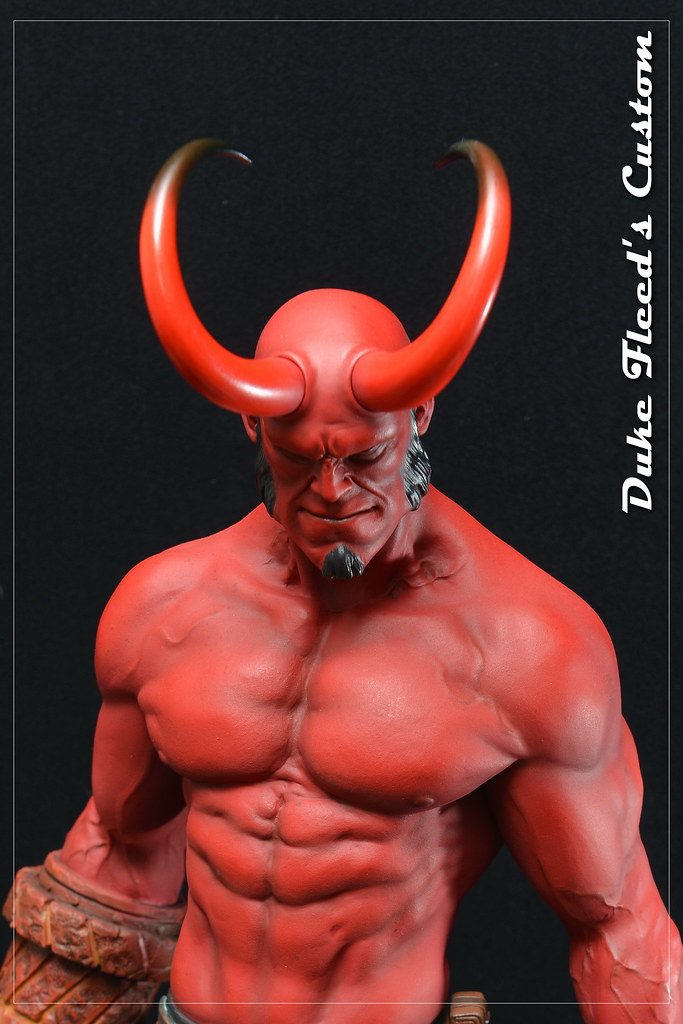 Hellboy 1/4 by Narin  15813189755_3838602b28_b