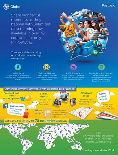 Globe Telecom P599 Infographic