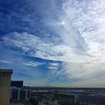 Saddleback, Sundog, Clouds and Dust