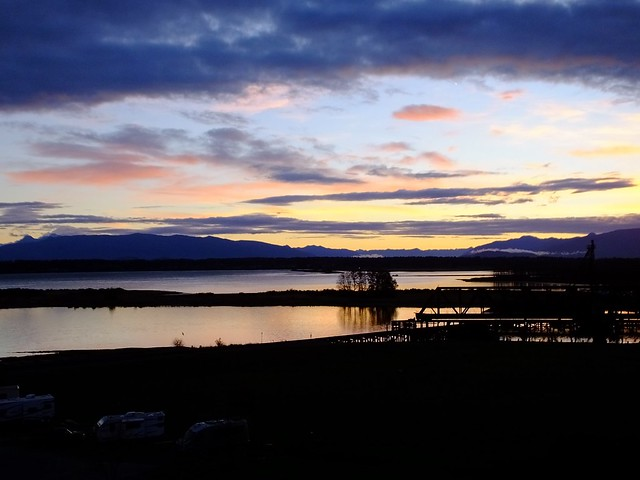 Dawn over Padilla Bay