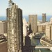 Marina City and Chicago River - Chicago, Illinois by The Cardboard America Archives