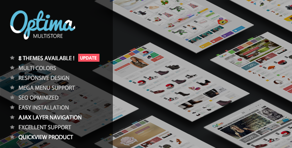 Optima v1.2 - Multipurpose Responsive OpenCart Theme