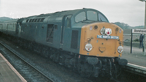 40086 Stonehaven 10th March 1984.