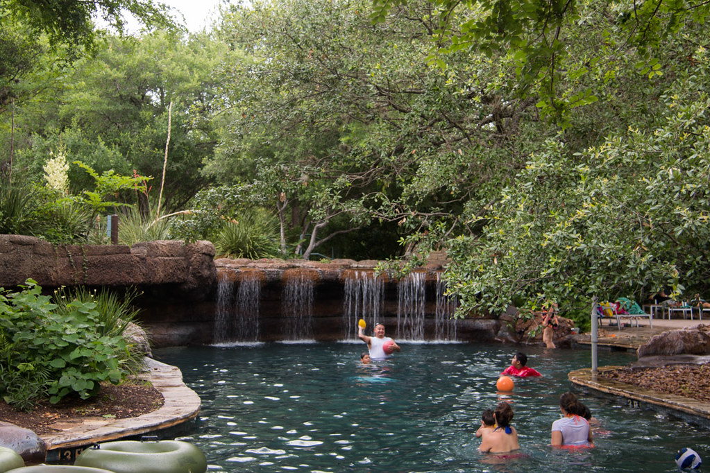 Pools at Hyatt Hill Country
