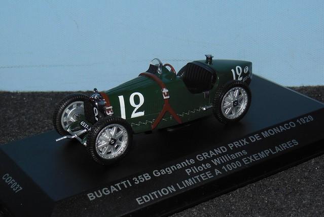 BUGATTI Type 35B - GP Monaco 1929 - 1/43