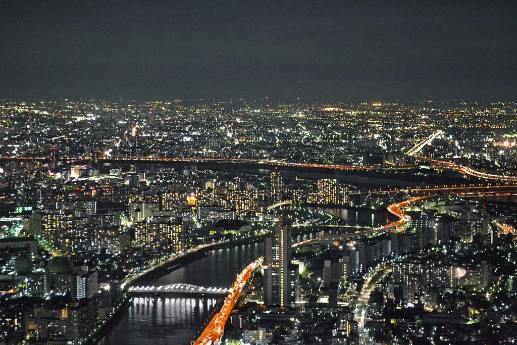 City skyline (Tokyo - 東京都)