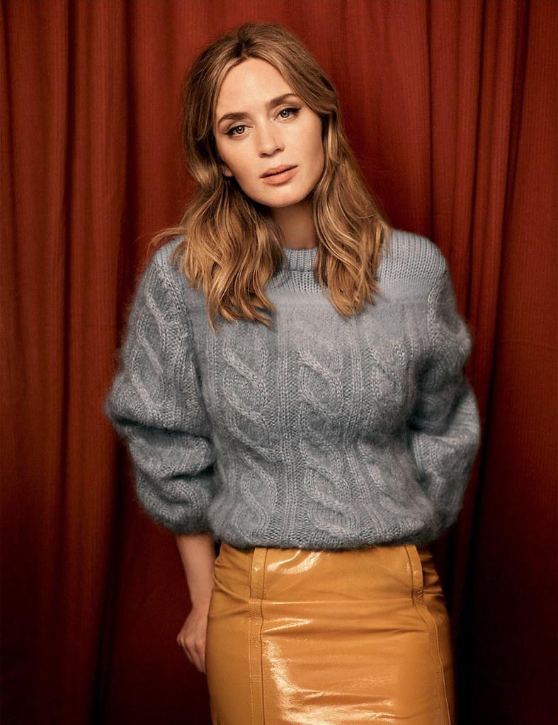 Эмили Блант — Фотосессия для «Vogue» UK 2016 – 3