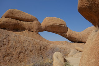 Image of  Rock arch. namibia africa spitzkoppe