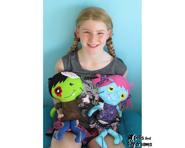 zombie sewing pattern