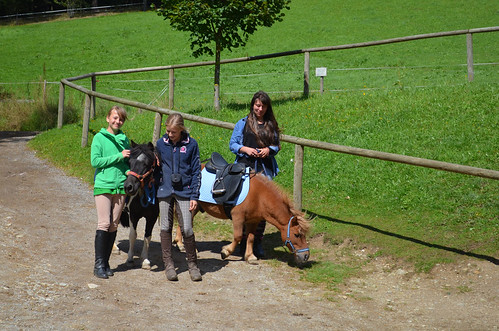 Reiten am Ponyhof in Ratten