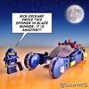 #LEGO_Galaxy_Patrol and #LEGO #Spinner #BladeRunner #RickDeckard #Deckard @ichibantoys @lego_group @lego