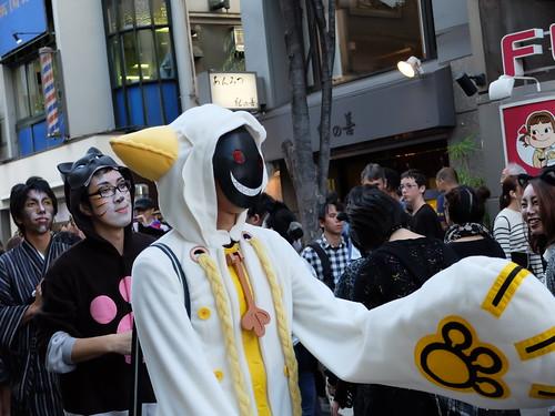 Kagurazaka Bakeneko Parade 2014-05