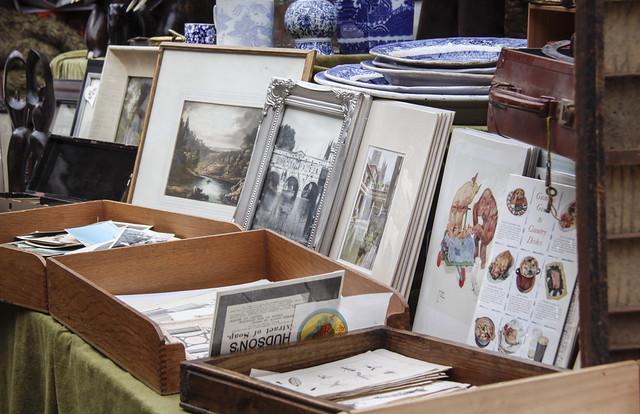 Vintage Antiques Market - Bath