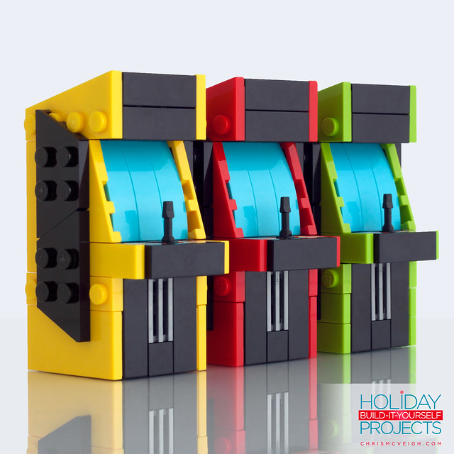 Build-It-Yourself 2014: Arcade Ornaments
