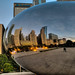 The Bean at sunrise