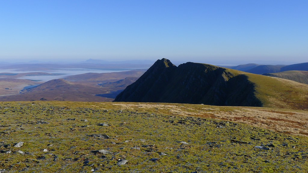 An Sgurr from the south top of Seana Bhraigh