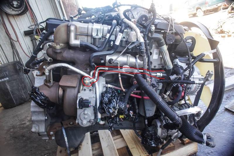 Coolant transfer line delete dodge cummins diesel forum