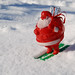 Santa Enjoys the Snow by Roadsidepictures