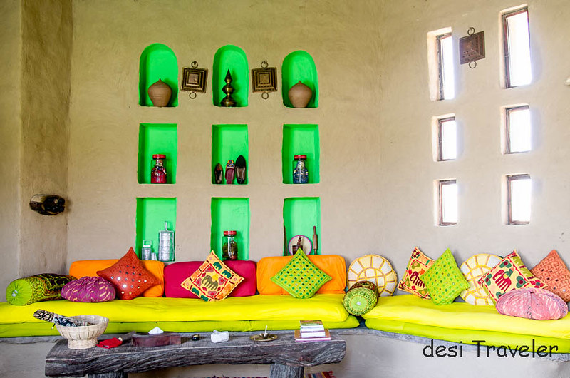 Baithak or Living room Cottage Lakshman Sagar
