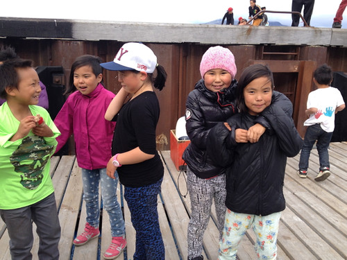 Greenland Nanortalik children