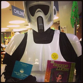 Thank you to the 501st Legion Old Line Garrison for making #starwarsreads day a huge success!