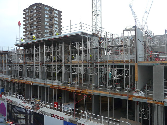 Work at Elephant and Castle