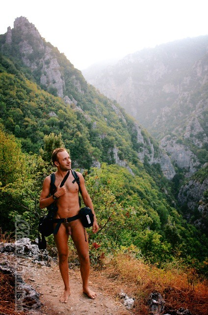 naturist 0004 E4 trail, Mount Olympus, Greece