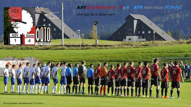 ASV Bad Mitterndorf 1:4 (1:1) ATV Irdning - Oberliga Nord Steiermark 12.10.2014 (c) Bernhard Egger :: eu-moto images | pure passion 3971