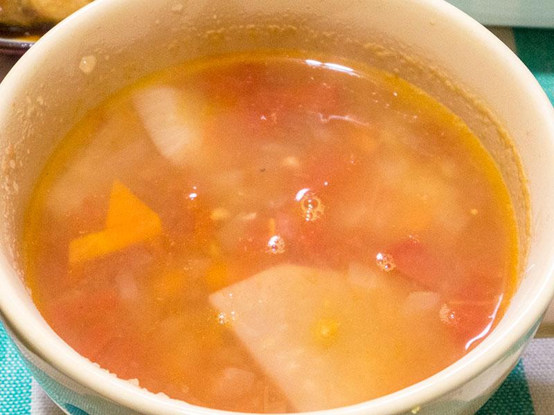 トマトカブスープ