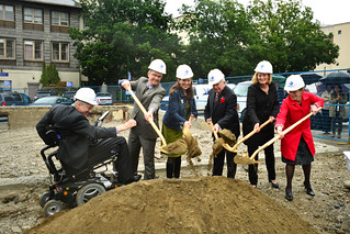 Joseph & Rosalie Segal Family Health Centre groundbreaking