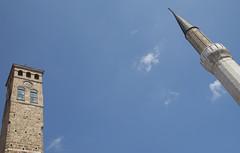 Sarajevo, begova sahat kula i munara