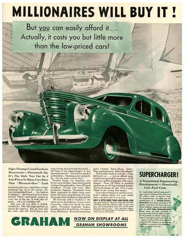 1938 Graham Supercharger