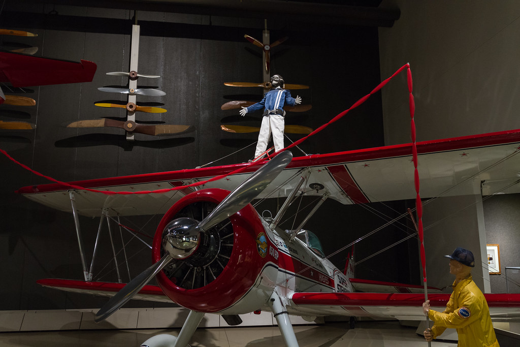 Wing Walker EAA 2014