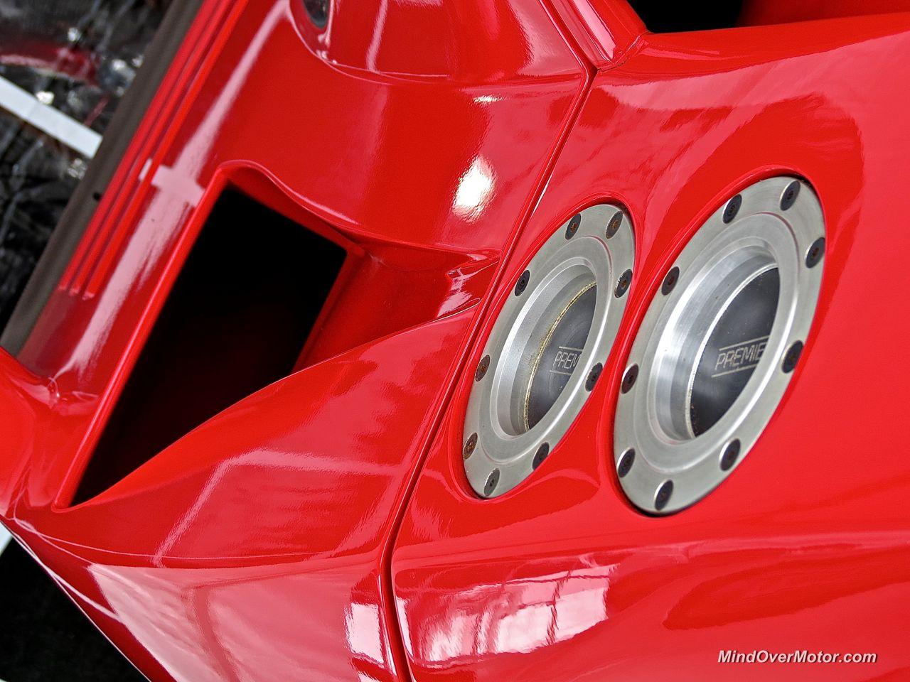 Ferrari F40 LM Gas Caps
