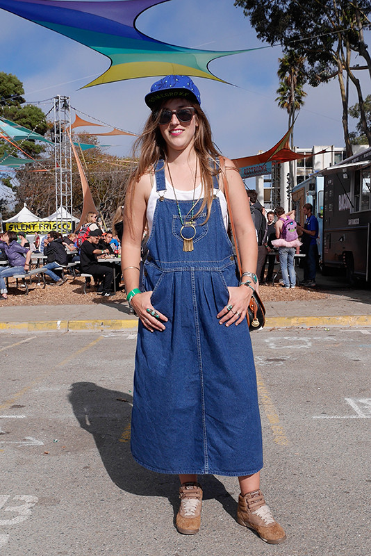 oshkosh Quick Shots, San Francisco, street fashion, street style, Treasure Island, treasure island music festival, women