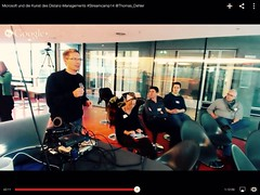 Über Planungsdedöns, Zufall und Irrtum. Expertenpanel beim #Streamcamp14