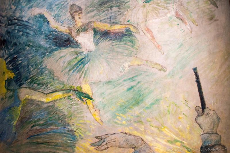 Henri de Toulouse-Lautrec - Ballet Dancers in Art Institute of Chicago