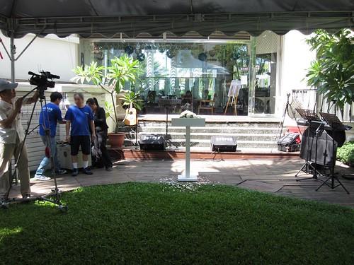 台南商務會館-基督教戶外證婚儀式 (5)