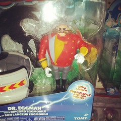 The hell happened to Dr Eggman? He get swole or something?